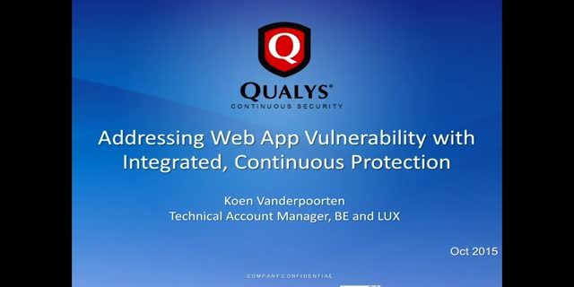 Integrated web app security delivered via the cloud