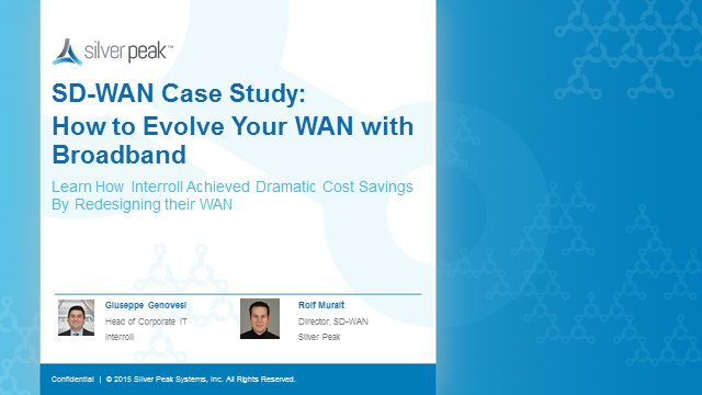 SD-WAN Case Study: How to Evolve Your WAN with Broadband