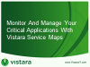 Monitor and Manage Your Critical Applications With Vistara Service Maps