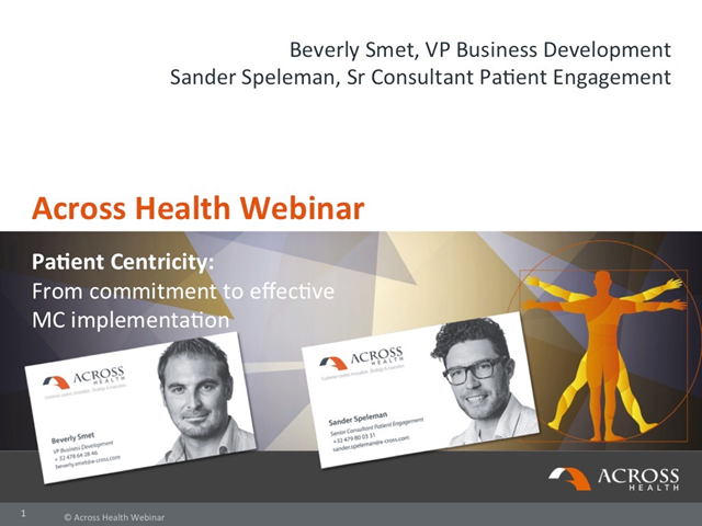 Patient Centricity – from commitment to effective multi-channel implementation