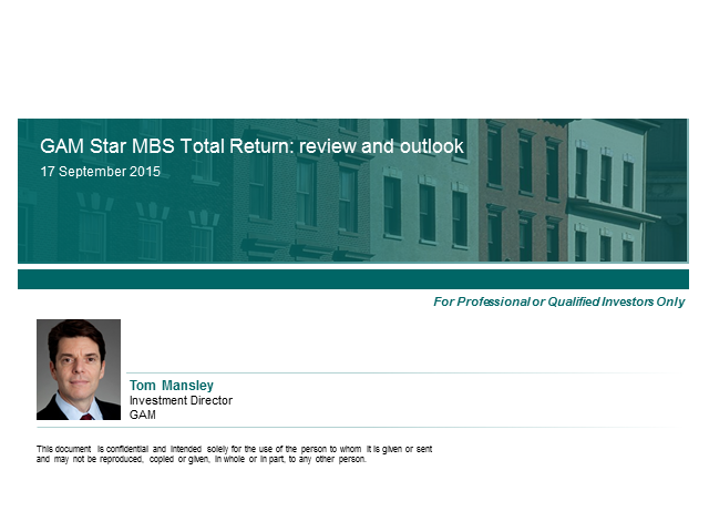 GAM Star MBS Total Return: review and outlook