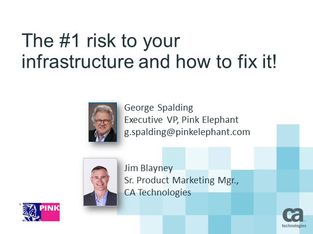 The #1 Risk to our Infrastructure and How to Fix It!