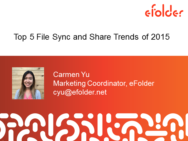 Top 5 File Sync and Share Trends of 2015