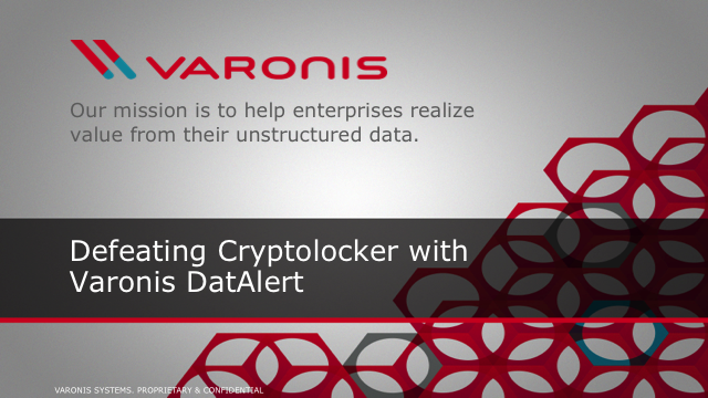 Cryptolocker - Ransomware Remediation