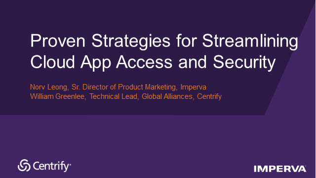 Strategies for Streamlining Cloud App Access and Security