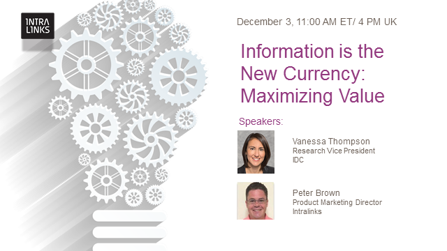 Information is the New Currency: Maximizing Value