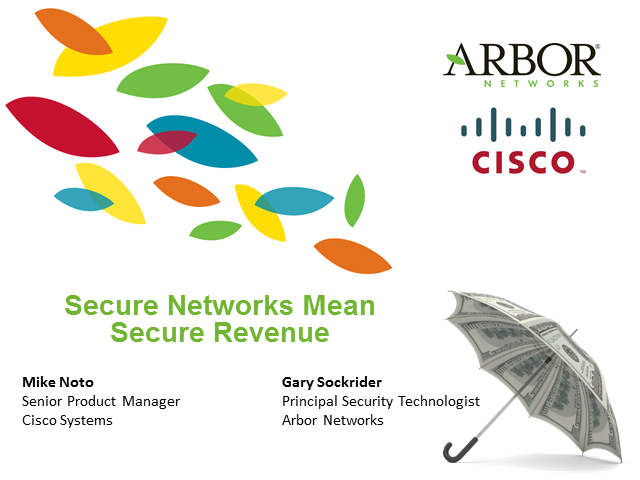 Secure Networks Mean Secure Revenue