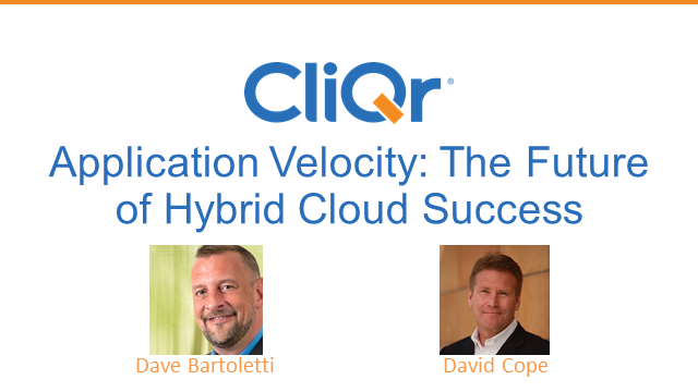 Application Velocity: The Future of Hybrid Cloud Success