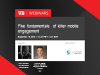 Five fundamentals of killer mobile engagement