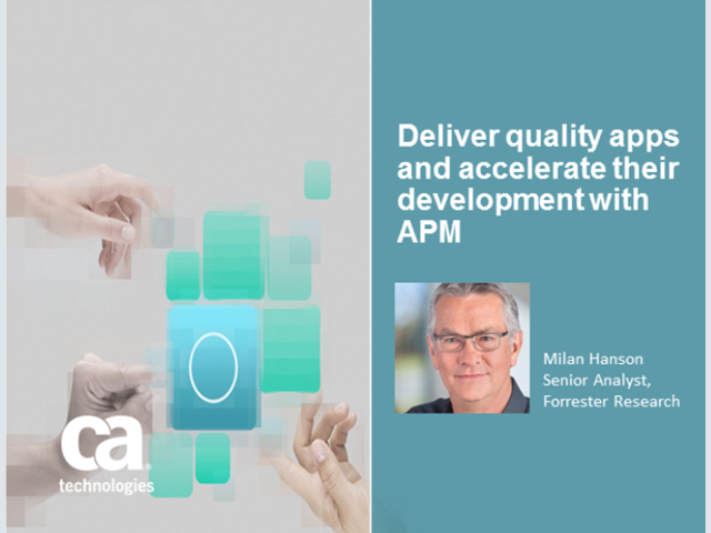 Deliver quality apps and accelerate their development with APM