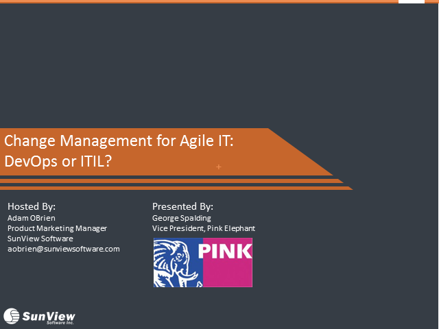 Change Management for Agile IT: ITIL or DevOps?