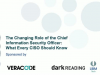 The Changing Role of the Chief Information Security Officer