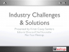 Industry Challenges and Solutions