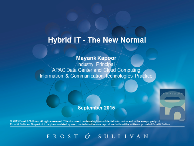 Hybrid IT - The New Normal
