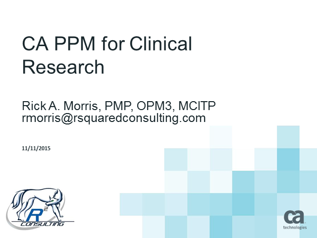 Resource Management & Planning for Successful Clinical Trials