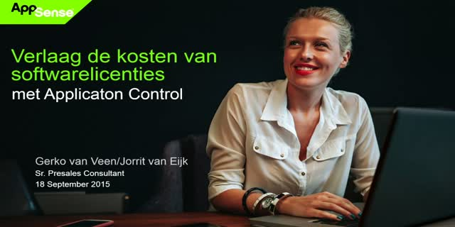 Verlaag de kosten van softwarelicenties met Application Control