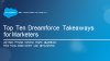 Top Ten Dreamforce Takeaways for Marketers