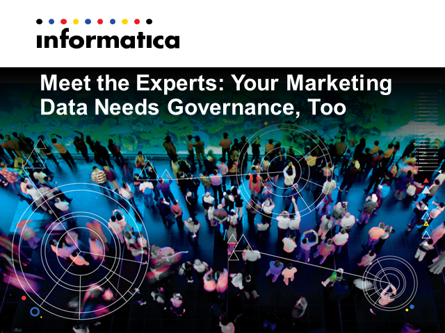 Meet the Experts: Your Marketing Data Needs Governance, Too