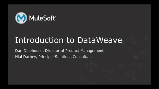 Introducing DataWeave: MuleSoft's Next-Generation Data Integration Solution