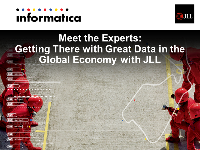 Meet the Experts: Getting There with Great Data in the Global Economy with JLL