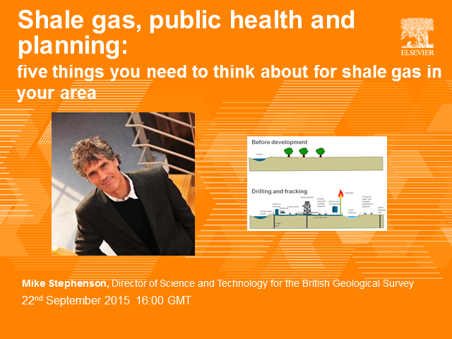 Shale gas, public health and planning: five things to think about for shale gas