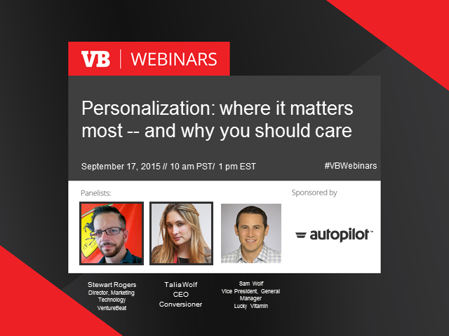 Four ways personalization will improve your marketing campaign