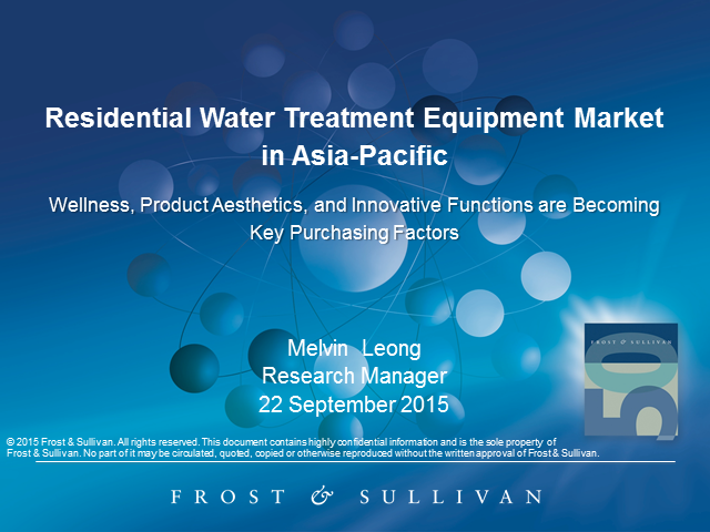 Residential Water Treatment Equipment Market in APAC