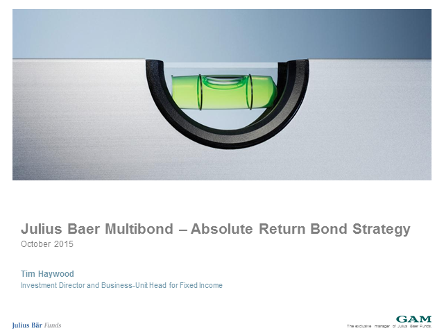 JB Absolute Return Bond Funds