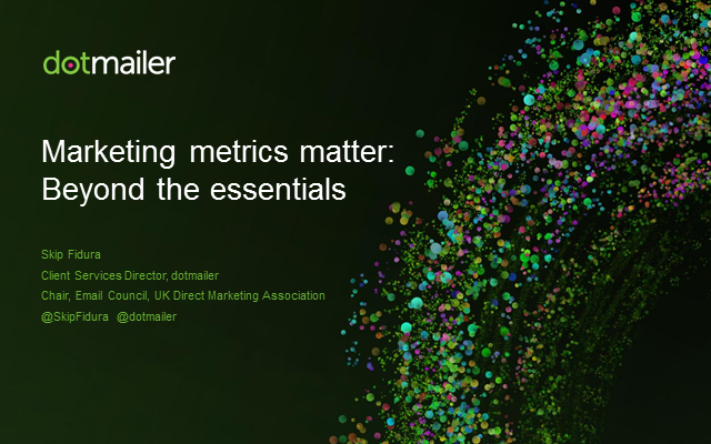 Webinar: Metrics matter – Beyond the essentials