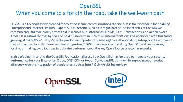 OpenSSL – When you come to a fork in the road, take the well-worn path