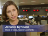 60 Seconds with Johanna Kyrklund