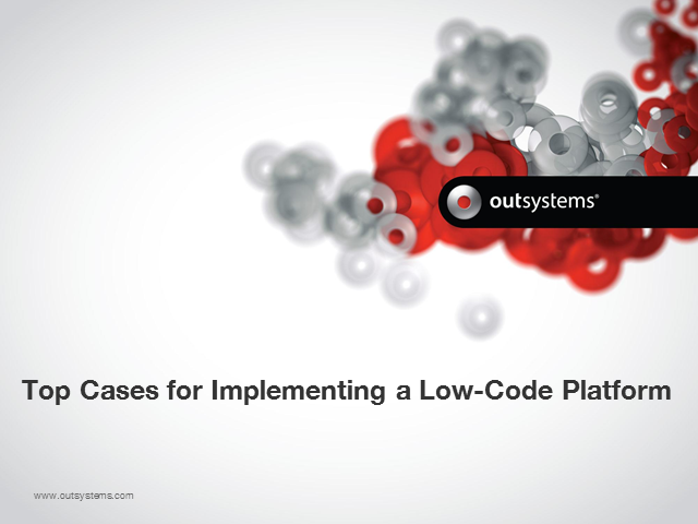 Top 6 Cases for Implementing a Low-Code Platform - and Two Real Examples