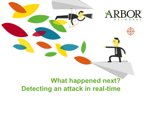 What happened next? Detecting an attack in real-time