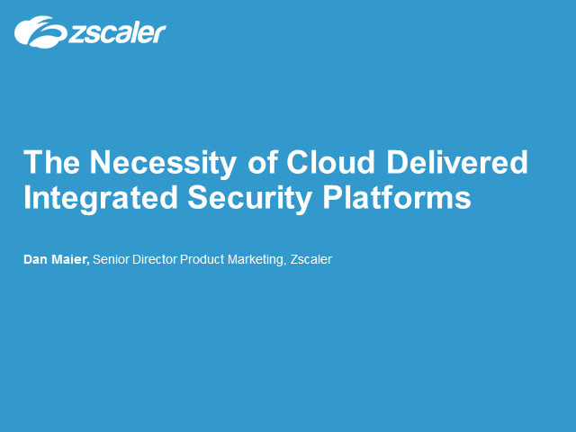 Why Cloud Security is No Longer an Option – It's a Necessity