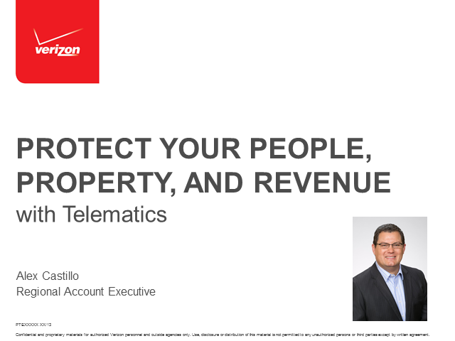 Protect your People, Property, and Revenue with Telematics