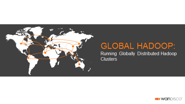 Running Globally Distributed Hadoop Clusters