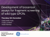 Development of biosensor assays for fragment screening of wild type GPCRs
