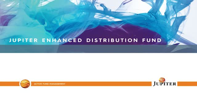 Overview - Jupiter Enhanced Distribution Fund