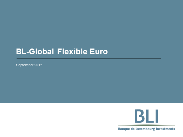 BL-Flexible Eur - A flexible approach to investing