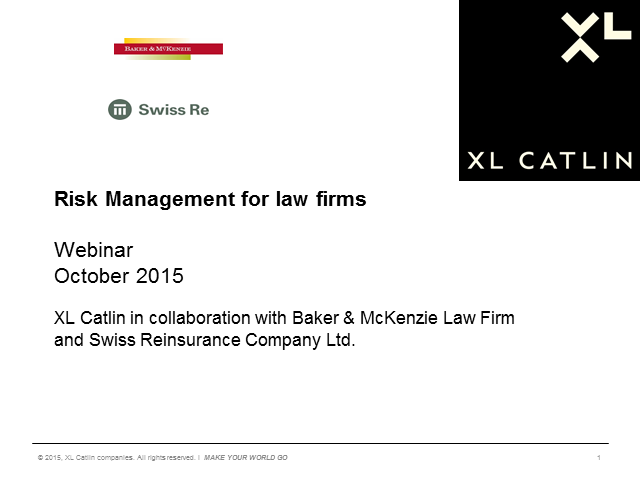 Risk Management for Law Firms - strategies to safeguard your business