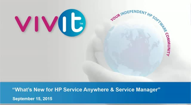 What's New for HP Service Anywhere & Service Manager