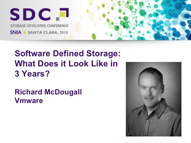 Software Defined Storage - What Does it Look Like in 3 Years? [LIVE]