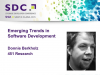 Emerging Trends in Software Development [LIVE]