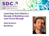 Learnings from Nearly a Decade of Building Low-cost Cloud Storage [LIVE]