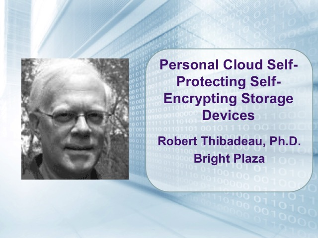 Personal Cloud Self-Protecting Self-Encrypting Storage Devices [LIVE]
