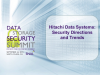 Hitachi Data Systems - Security Directions and Trends