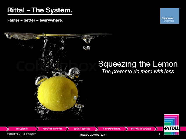 Squeezing the Lemon - The Power to do More with Less