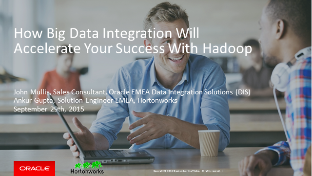 Big Data Integration for Success with Hadoop