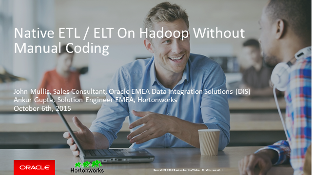 Building native ETL/ELT on Hadoop without manual coding