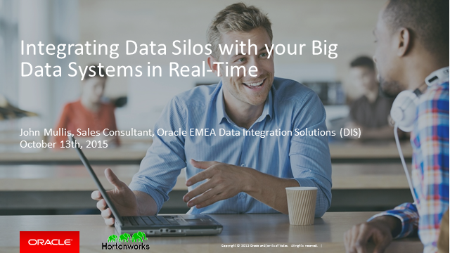Integrating Data Silos with your Big Data Systems in Real-Time